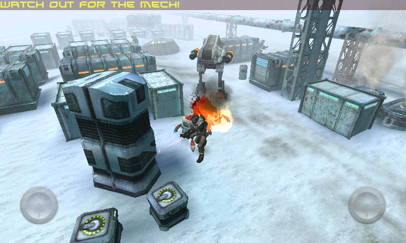 ANGRY BOTS 9MB - screenshot