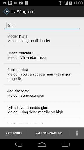 IN-Sångbok