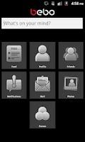 Screenshot of Bebo Mobile