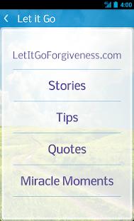 Let It Go - Free screenshot