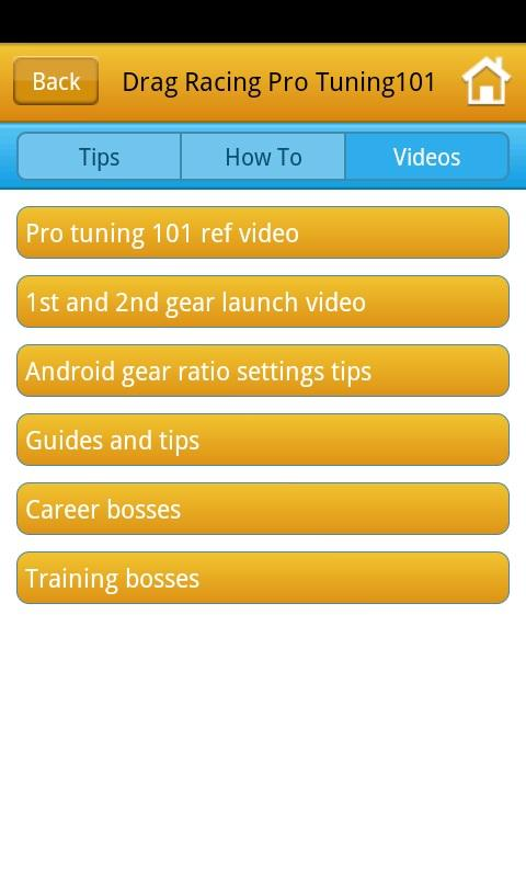 Drag Racing Pro Tunes - screenshot