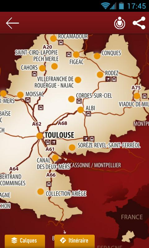 Grands Sites Midi-Pyrénées - screenshot