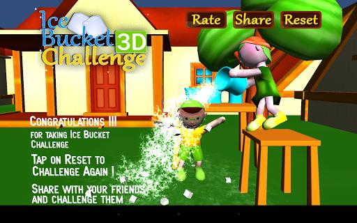 Ice Bucket Challenge 3D