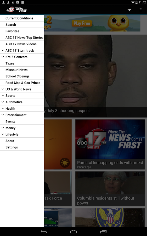 ABC 17 News - screenshot