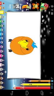 Annoyed Birds Coloring - screenshot thumbnail