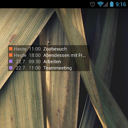 【免費個人化App】Calendar Widget-APP點子