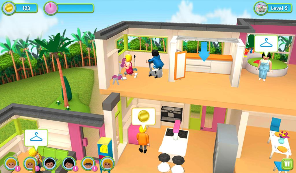 Playmobil luxury mansion android apps on google play for Maison moderne playmobil