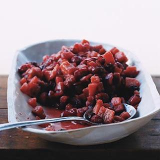 Cranberry Quince Sauce