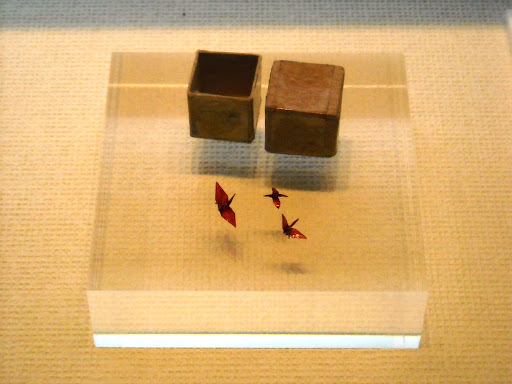 A Young Girl's Death from Leukemia - Sadako Sasaki Small paper cranes
