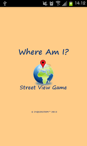 Where Am I Street View Game