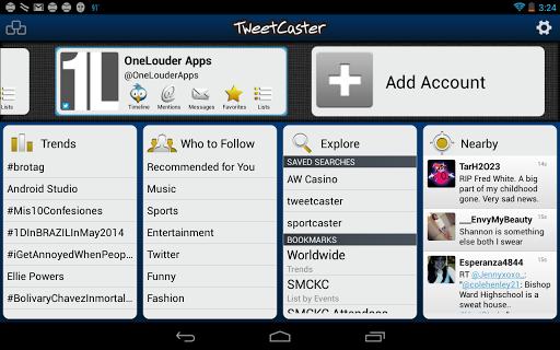 10 Best Twitter Clients For Android - Tweetcaster Pro