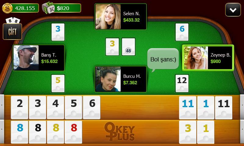 Okey Plus - screenshot