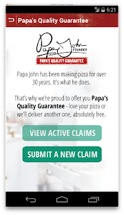 Papa John's- screenshot thumbnail
