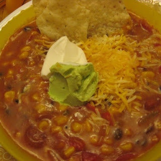 Slow Cooker Cheese Enchilada Chowder.