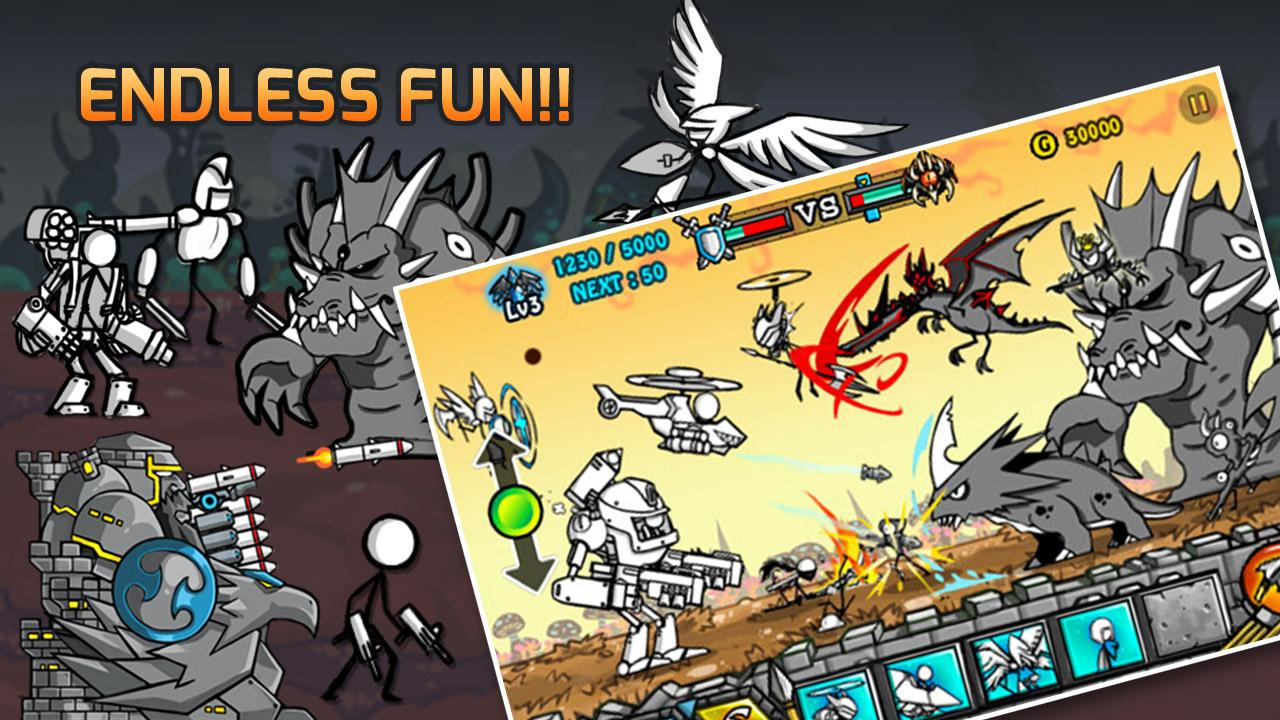 Cartoon Wars 3 1.1.4 Apk Data Android - rexdl.com