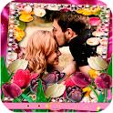 Romantic Flowers Photo Frames icon