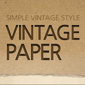 Vintage Paper Atom Theme