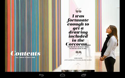 Corcoran College Art + Design - screenshot thumbnail