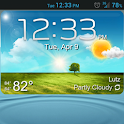 GS3 ish Weather (a UCCW Skin) icon