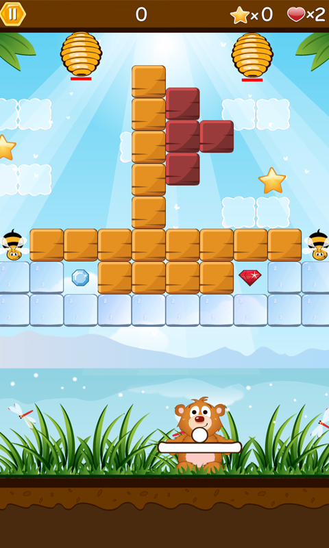 Call of Honey Break the Bricks - screenshot