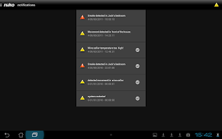 Screenshot of Niko Home Control