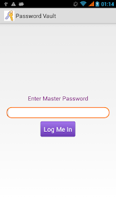 Password Vault screenshot 0