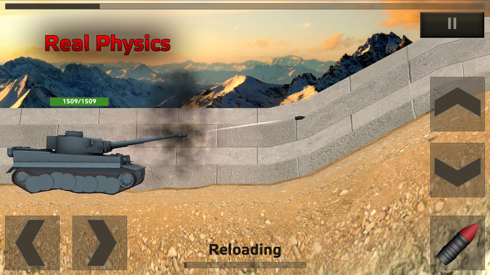 Tanks:Hard Armor Free- screenshot