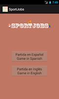 Screenshot of SportJobs