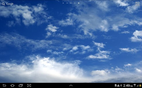 Sky Live Wallpaper - screenshot thumbnail