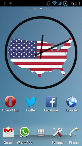 United States - Clock Widgets
