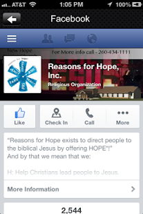 Reasons for Hope- screenshot thumbnail