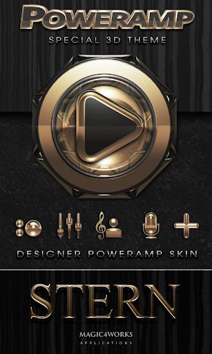 Poweramp skin Stern