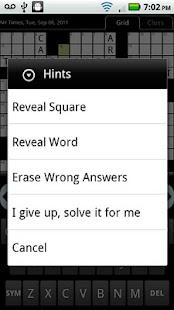 Crosswords Plus - screenshot thumbnail