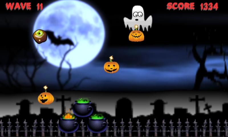 Halloween Pumpkin Smash Lite - screenshot
