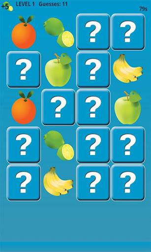 水果記憶遊戲