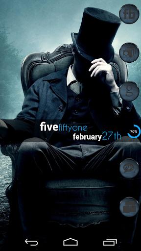 VM7 Grey on Blue Icon Set