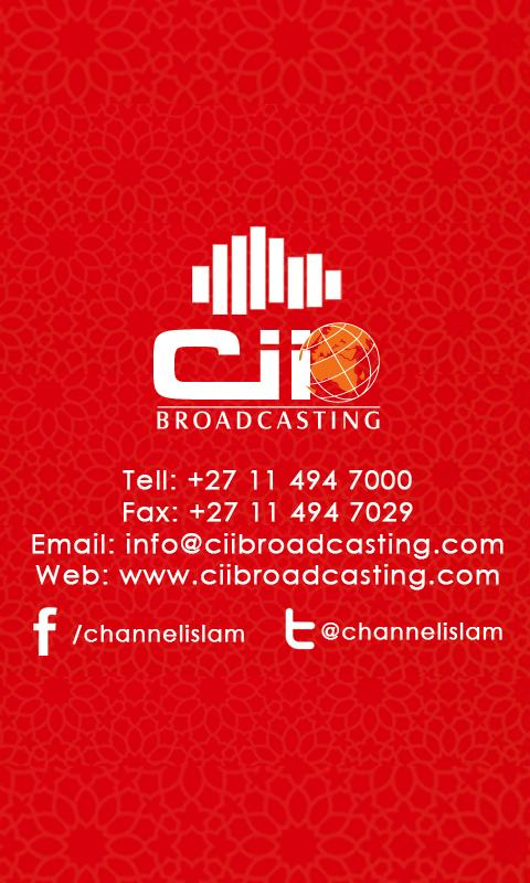 Cii Broadcasting- screenshot
