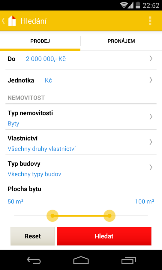 reality.cz - screenshot