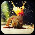 Drink Splash Live Wallpaper icon