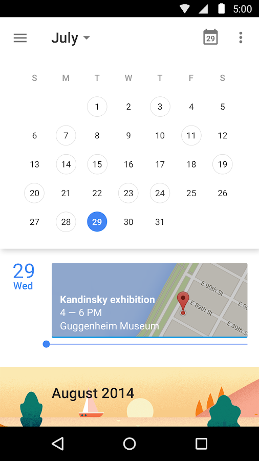 Calendar Wallpaper App : Google calendar android apps on play