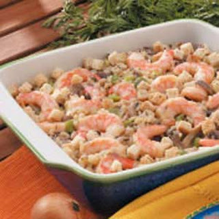 Wild Rice Shrimp Bake