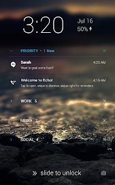Echo Notification Lockscreen Screenshot 14