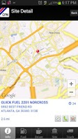 Screenshot of CFN Site Locator