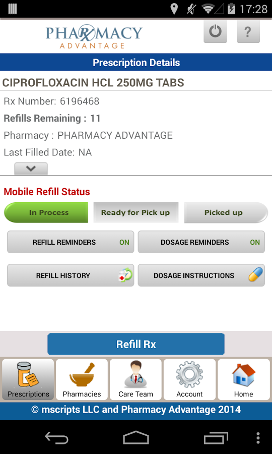 Pharmacy Advantage Rx- screenshot