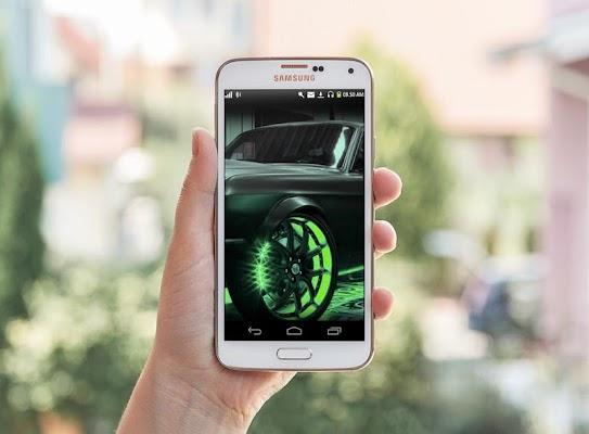 Neon Car HD Live Wallpaper - screenshot