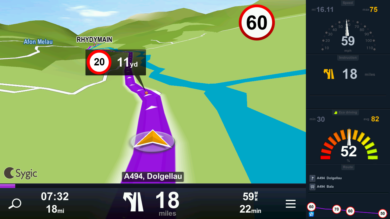 Sygic: GPS Navigation & Maps - screenshot