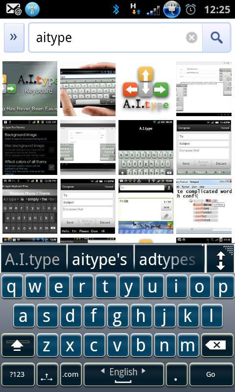 A.I.type EZReader Theme Pack - screenshot