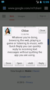 chomp SMS - screenshot thumbnail