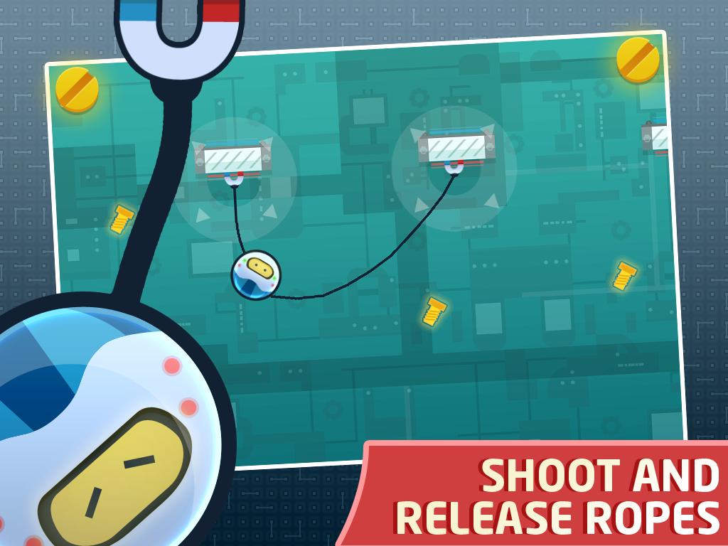 RopeBot Lite - Bot Game- screenshot