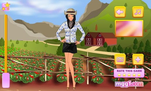 Ranch Girl Dress Up - screenshot thumbnail